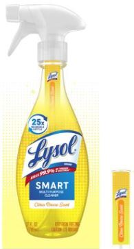 LYSOL® Smart Multi-Purpose Cleaner - Citrus Breeze